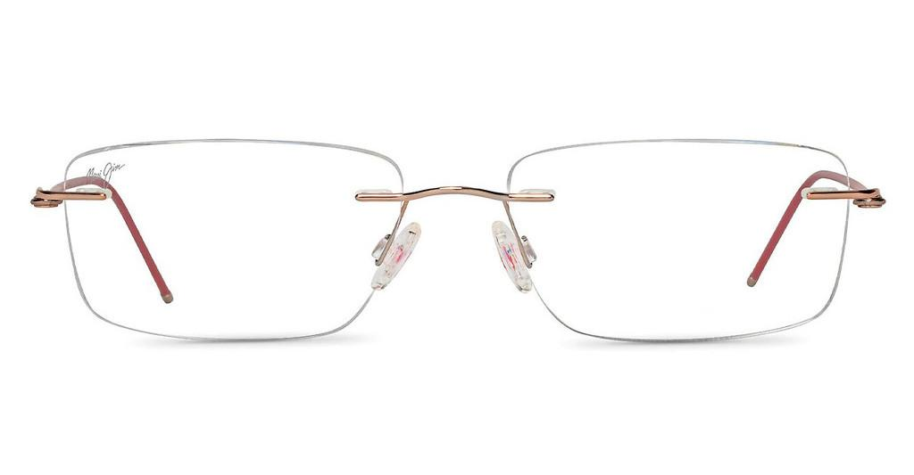 Maui Jim   MJO2010 38 rose gold pink