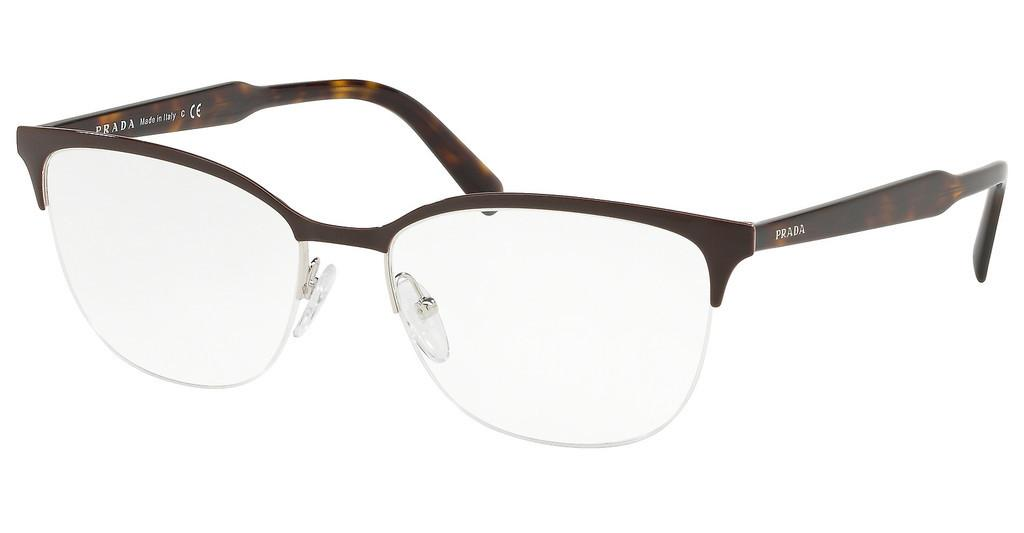 Prada   PR 53VV DHO1O1 TOP BROWN/SILVER