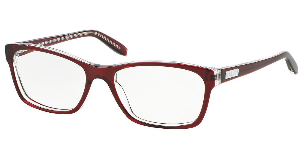 Ralph   RA7039 1081 SHINY TRANSP RED ON CRYSTAL