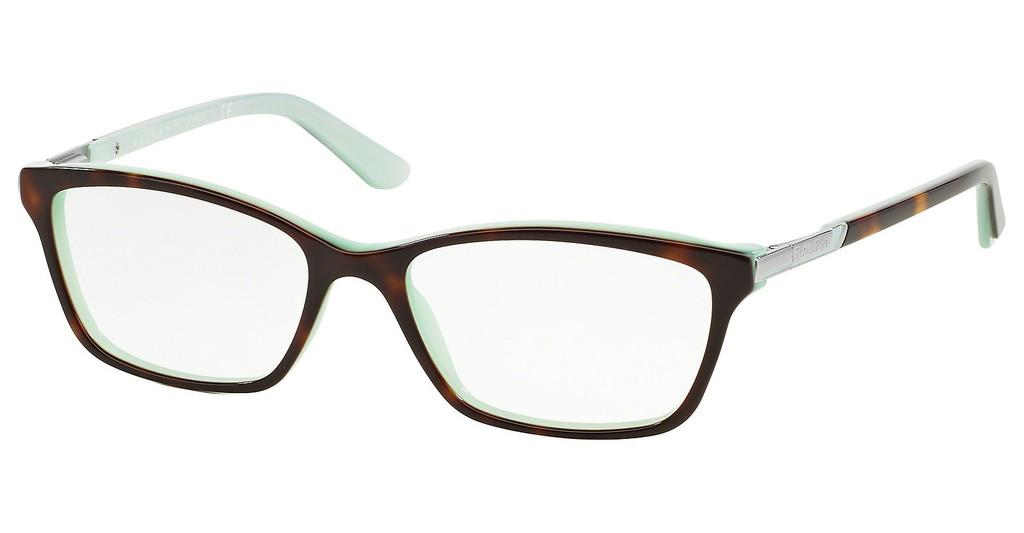 Ralph   RA7044 601 SHINY HAVANA ON ACQUAMARINE