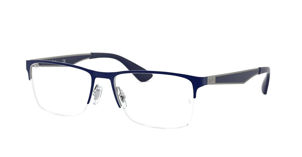 Ray-Ban   RX6335 2947 GUNMETAL TOP BLUE