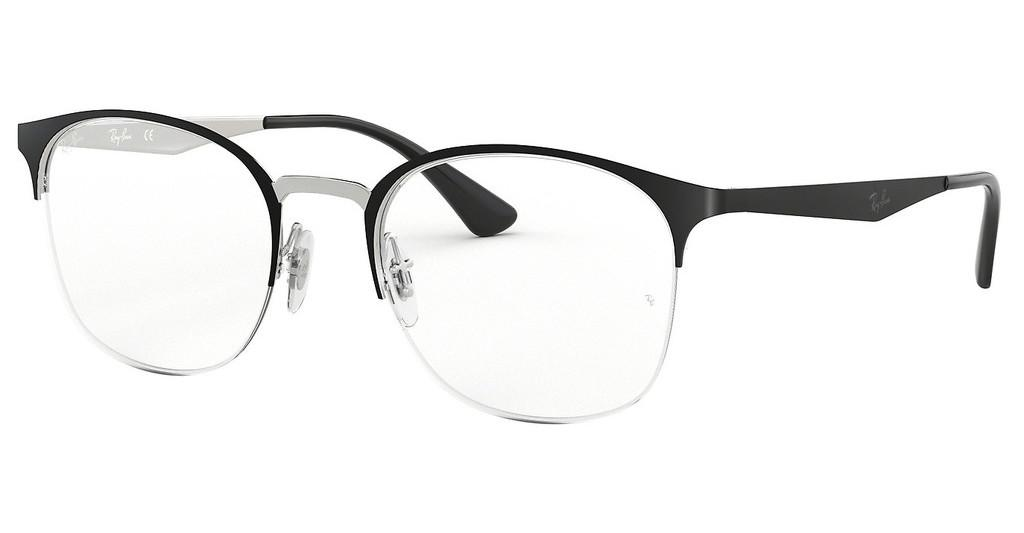 Ray-Ban   RX6422 2997 SILVER ON TOP MATTE BLACK