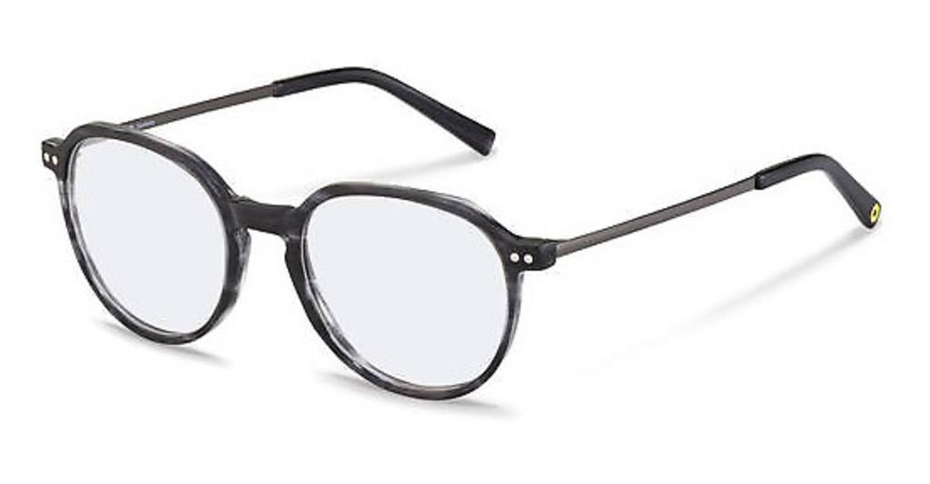 Rocco by Rodenstock   RR461 A dark grey structured, dark gun
