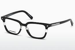 Designer briller Dsquared DQ5226 003 - Sort, Hvid