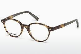 Designer briller Dsquared DQ5227 053 - Havanna, Yellow, Blond, Brown