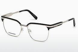 Designer briller Dsquared DQ5240 016 - Sølv, Shiny, Grey