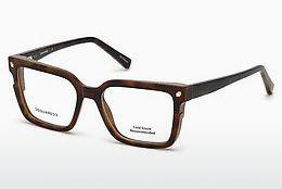 Designer briller Dsquared DQ5247 053 - Havanna, Yellow, Blond, Brown
