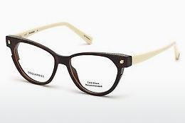 Designer briller Dsquared DQ5248 053 - Havanna, Yellow, Blond, Brown