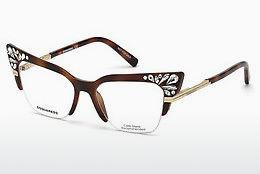 Designer briller Dsquared DQ5255 053 - Havanna, Yellow, Blond, Brown