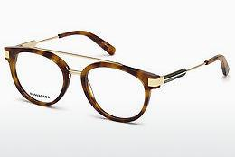 Designer briller Dsquared DQ5261 053 - Havanna, Yellow, Blond, Brown