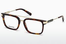 Designer briller Dsquared DQ5262 053 - Havanna, Yellow, Blond, Brown