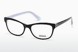 Designer briller Guess GU2527 003 - Sort, Transparent