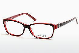 Designer briller Guess GU2542 070 - Bourgogne, Bordeaux, Matt