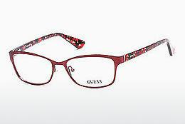 Designer briller Guess GU2548 070 - Bourgogne, Bordeaux, Matt