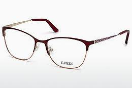 Designer briller Guess GU2583 070 - Bourgogne, Bordeaux, Matt