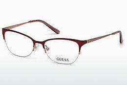 Designer briller Guess GU2584 070 - Bourgogne, Bordeaux, Matt