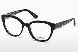 Designer briller Guess GU2651 001 - Sort, Shiny