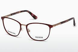 Designer briller Guess GU2659 070 - Bourgogne, Bordeaux, Matt
