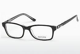 Designer briller Guess GU9131 003 - Sort, Transparent