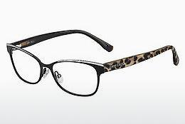 Designer briller Jimmy Choo JC147 2L4 - Sort, Leopard