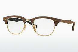 Designer briller Ray-Ban CLUBMASTER (RX5154M 5560) - Brun