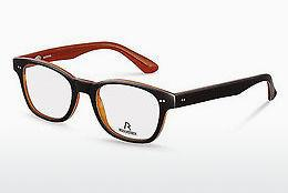 Designer briller Rodenstock R5185 G - Sort, Orange