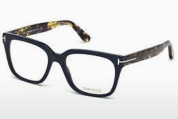 Designer briller Tom Ford FT5477 090 - Blå, Shiny