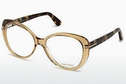 Designer briller Tom Ford FT5492 045 - Brun, Bright, Shiny