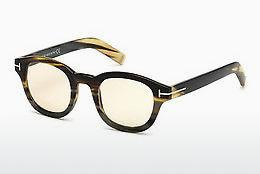 Designer briller Tom Ford FT5499-P 64E - Flerfarvet, Brun, Havanna