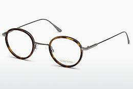 Designer briller Tom Ford FT5521 053 - Havanna, Yellow, Blond, Brown