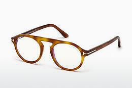 Designer briller Tom Ford FT5534-B 053 - Havanna, Yellow, Blond, Brown