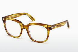 Designer briller Tom Ford FT5537-B 045 - Brun, Bright, Shiny
