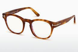 Designer briller Tom Ford FT5543-B 053 - Havanna, Yellow, Blond, Brown