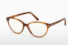 Designer briller Tom Ford FT5545-B 053 - Havanna, Yellow, Blond, Brown