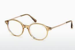 Designer briller Tom Ford FT5554-B 045 - Brun, Bright, Shiny