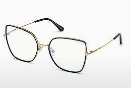 Designer briller Tom Ford FT5630-B 001 - Sort, Shiny
