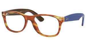 Ray-Ban RX5184 5799 LIGHT BROWN HAVANA