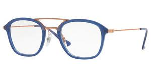 Ray-Ban RX7098 5727 TRASPARENT BLUE