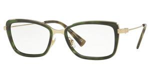 Versace VE1243 5183 PALE GOLD/GREEN HAVANA