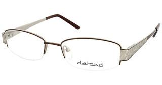 Detroit UN440 03 matt dark brown-matt silver