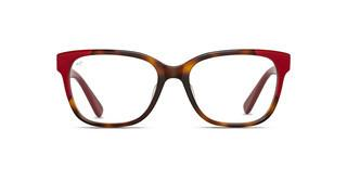 Maui Jim MJO2402 66 Tortoise with Red