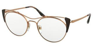 Prada PR 58VV 3311O1 ROSE GOLD/BROWN