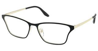 Prada PR 60XV AAV1O1 TOP BLACK/PALE GOLD