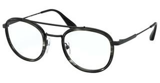 Prada PR 66XV 05A1O1 STRIPED GREY/BLACK