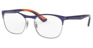 Ray-Ban Junior RY1054 4073 SILVER ON TOP MATTE BLUE