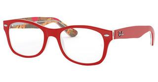 Ray-Ban Junior RY1528 3804 RED ON TEXTURE RED BROWN