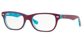 Ray-Ban Junior RY1555 3763 BLUE TRASP ON TOP FUXIA