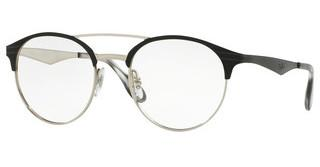 Ray-Ban RX3545V 2861 TOP BLACK ON SILVER