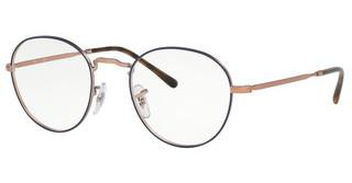 Ray-Ban RX3582V 3035 TOP BLUE ON MATTE COPPER
