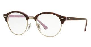 Ray-Ban RX4246V 5240 TOP HAVANA ON OPAL VIOLET
